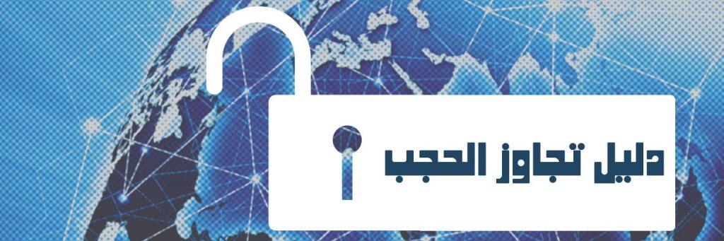 دليل كيفية تجاوز الحجب - الشبكة العربية لمعلومات حقوق الإنسان